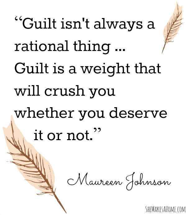 Guilt Quote 6 Picture Quote #1