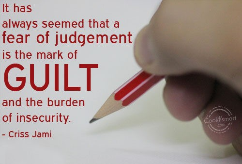Guilt Quote 8 Picture Quote #1