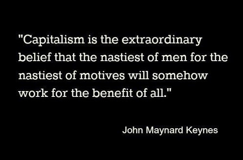 John Maynard Keynes Capitalism Quote 2 Picture Quote #1