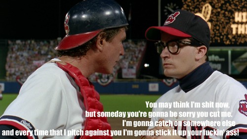Quotes From Major League: Major League Movie Quote