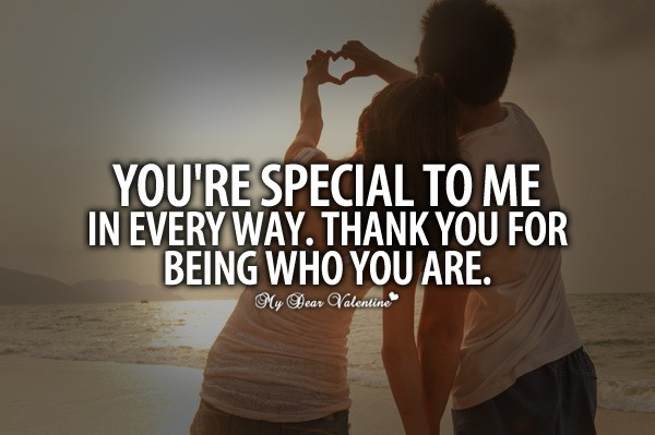 Special Person Thank You For Being There Quote 1 Picture Quote #1
