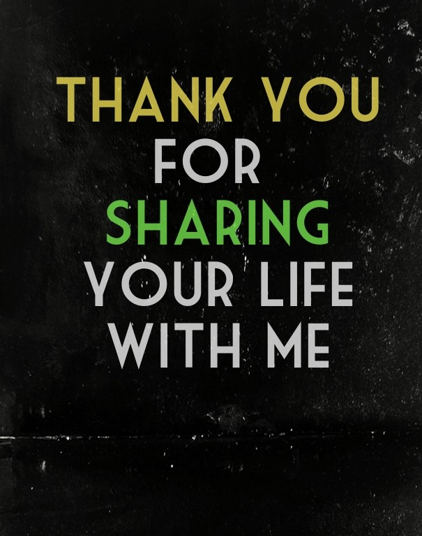 Thanks For Sharing Quote 2 Picture Quote #1