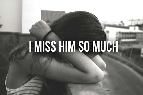 I Miss Him Quote 2 Picture Quote #1