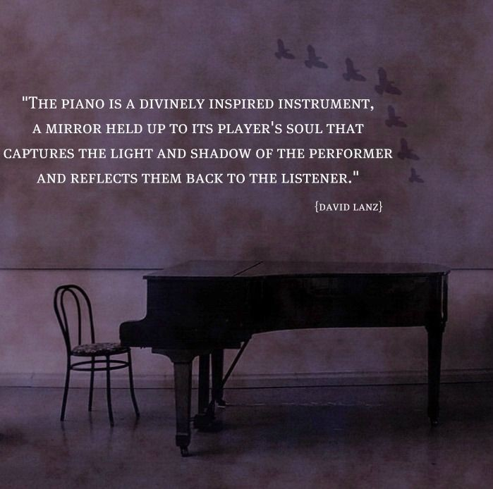 Piano Quote Inspirational 1 Picture Quote #1