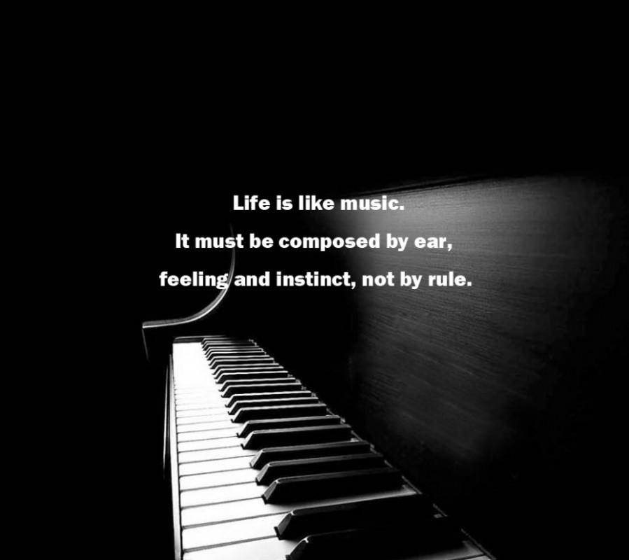 Piano Quote 18 Picture Quote #1