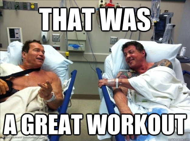 Funny Workout Quote 4 Picture Quote #1