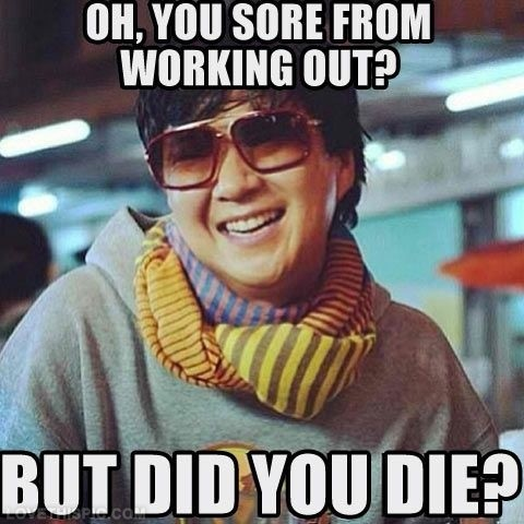 Funny Workout Quote 8 Picture Quote #1
