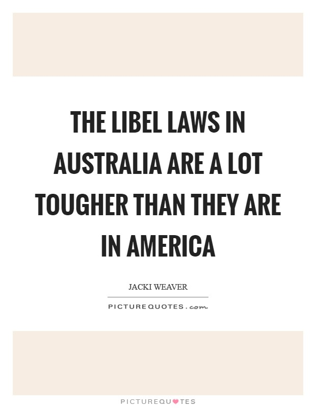 an analysis of the defamation law in australia Full-text paper (pdf): defamation law's chilling effect: a comparative content  analysis of australian and us newspapers.