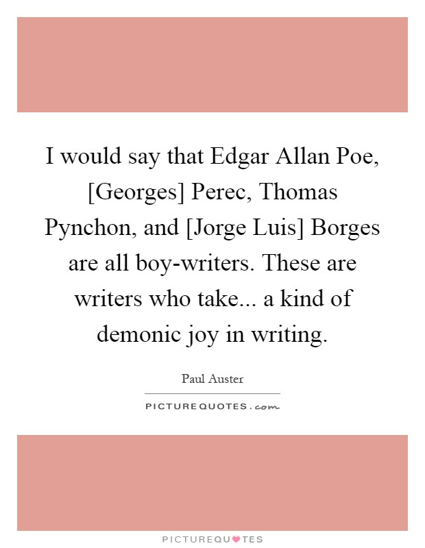 edgar allan poe essay conclusion What is the conclusion in 'the tell-tale heart' by edgar allan poe the conflict in the short story the tell-tale heart, by edgar allan poe is the old man's.