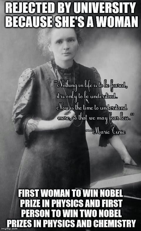 Female Scientist Quote 1 Picture Quote #1