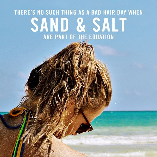 Quote Bare Feet Salty Hair Quotes T