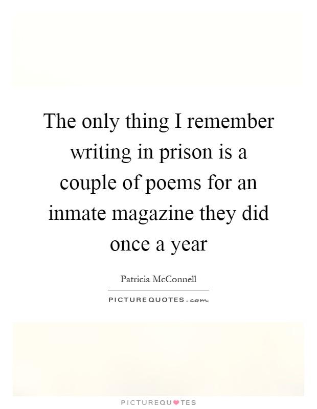 Women in prison essay