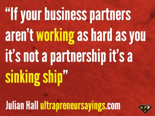 Partnership Quote 2 Picture Quote #1