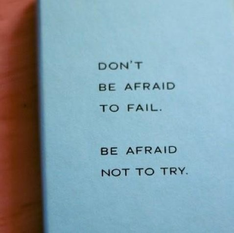 Fear Of Failure Quote 4 Picture Quote #1