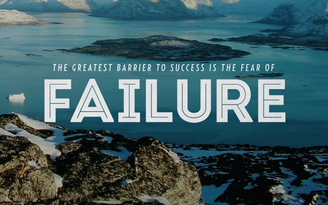 Fear Of Failure Quote 3 Picture Quote #1
