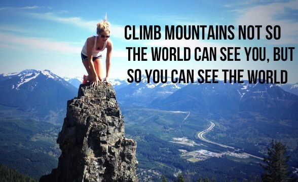 Inspirational Climbing Quote 1 Picture Quote #1