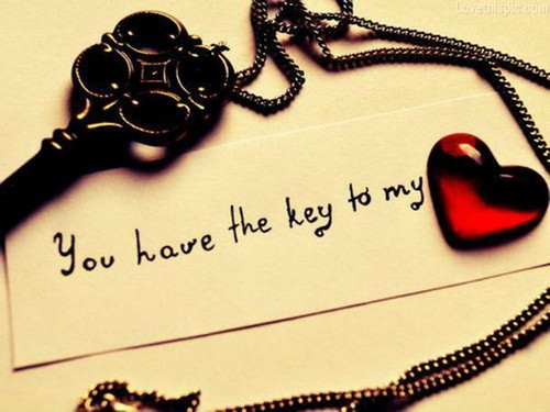 Key To My Heart Quotes & Sayings