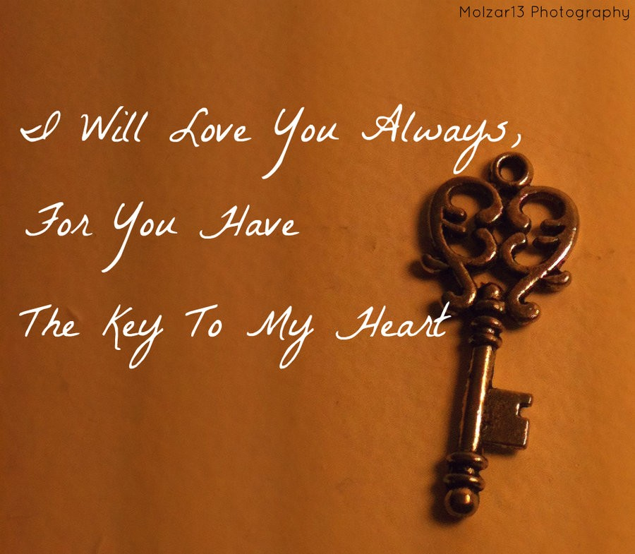 Key To My Heart Quotes & Sayings   Key To My Heart Picture ...
