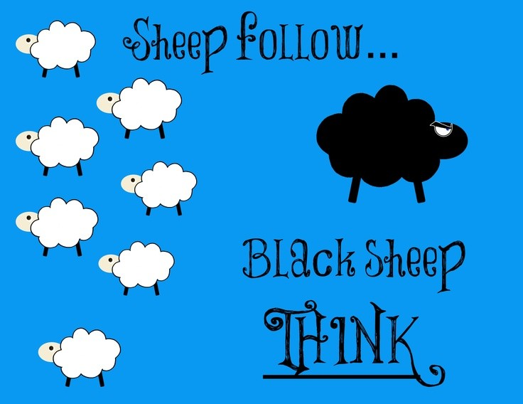 Black Sheep Quote 1 Picture Quote #1