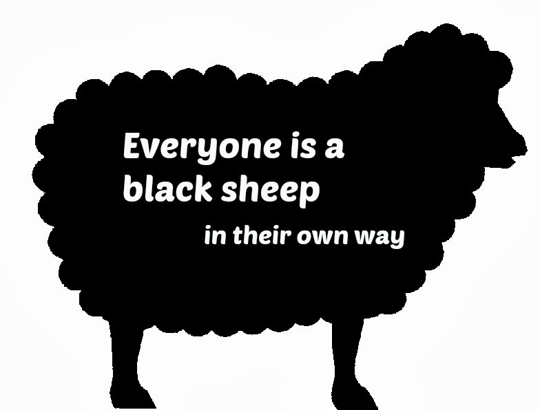 Black Sheep Quote 3 Picture Quote #1