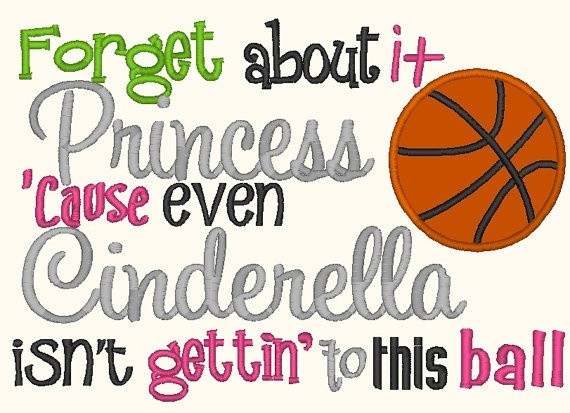 Funny Basketball Quote For Girls 1 Picture Quote #1