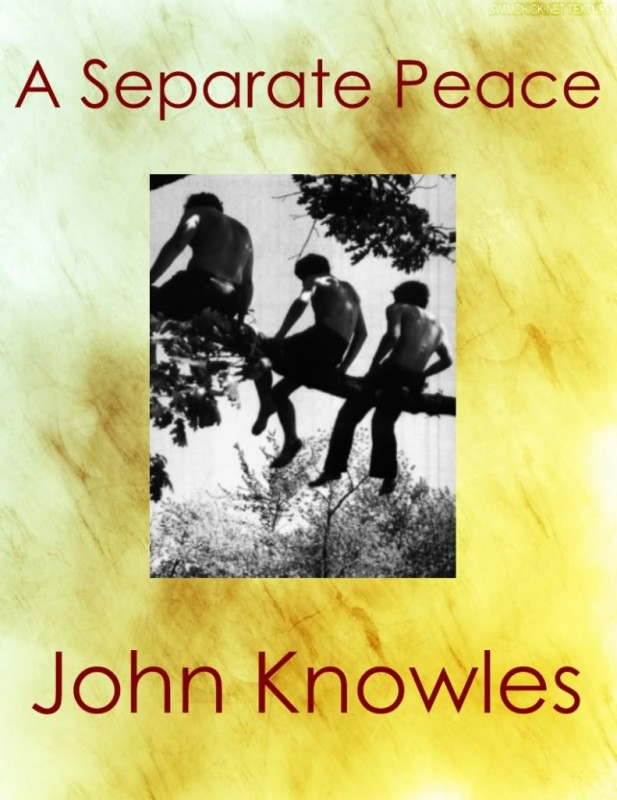 the good versus evil in a separate peace by john knowles