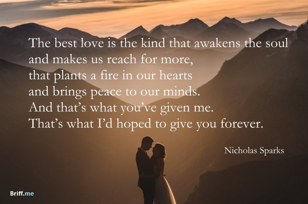 Wedding Speech Quote 3 Picture Quote #1