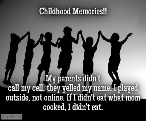 childhood memories quotes sayings childhood memories picture