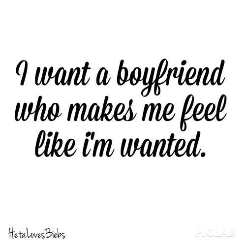 I Want A Boyfriend Quote 1 Picture Quote #1