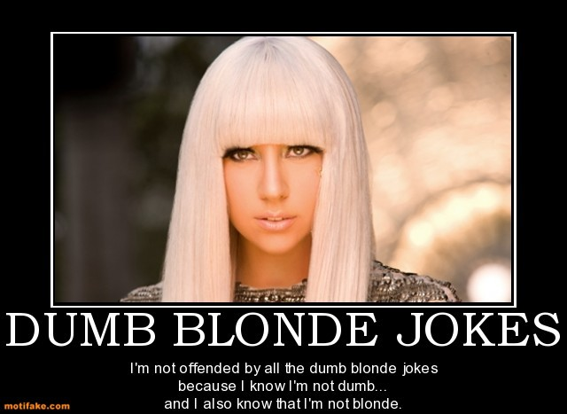 Funny Dumb Blonde Quote | Quote Number 677855 | Picture Quotes
