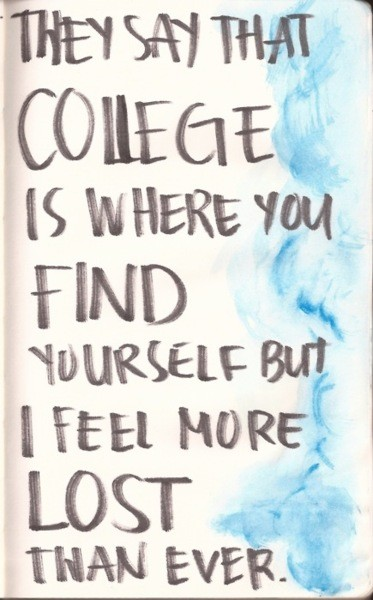 College Life Quote 3 Picture Quote #1