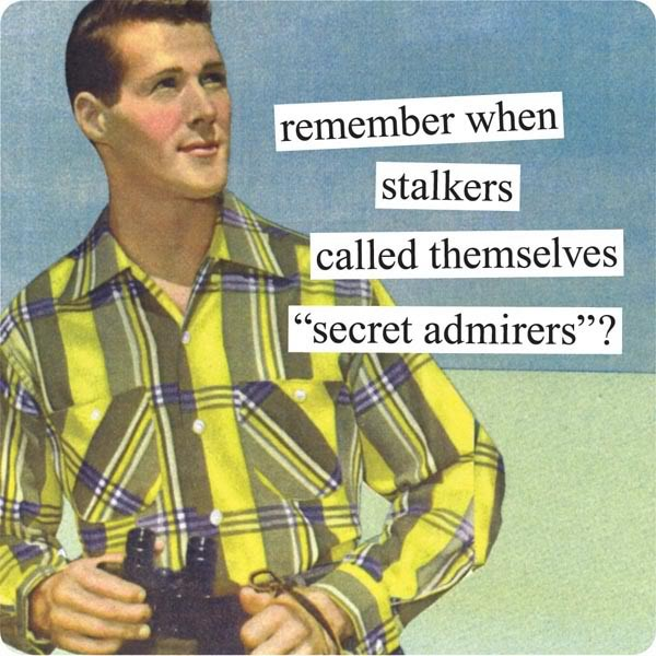 Funny Secret Admirer Quote 1 Picture Quote #1