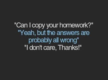 Homework Quote 18 Picture Quote #1