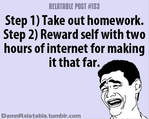 Homework Quote 24 Picture Quote #1