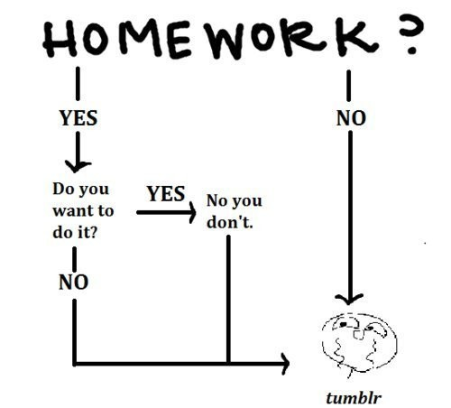 Homework Quote 26 Picture Quote #1