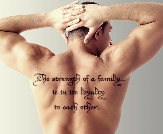 Tattoo Quote About Family 1 Picture Quote #1