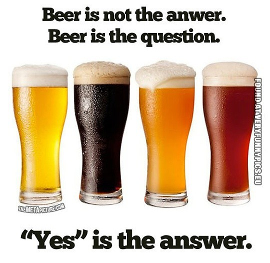 Funny Beer Quote 6 Picture Quote #1