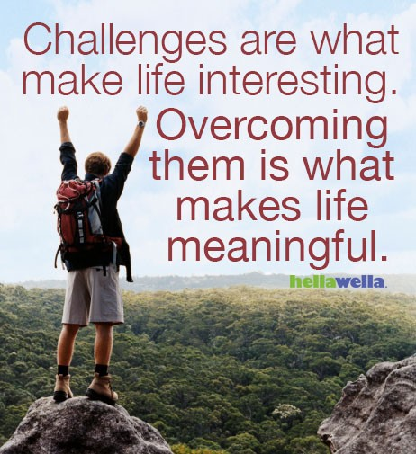 Overcoming Challenges Quote 1 Picture Quote #1