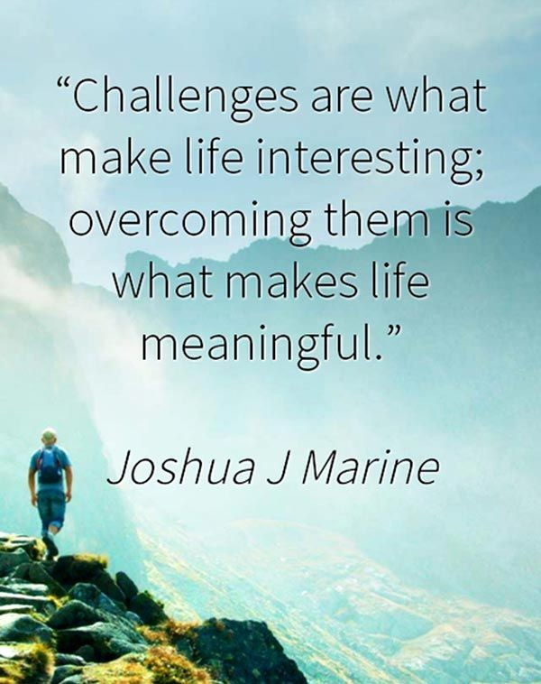 Overcoming Life Challenges Quote 1 Picture Quote #1