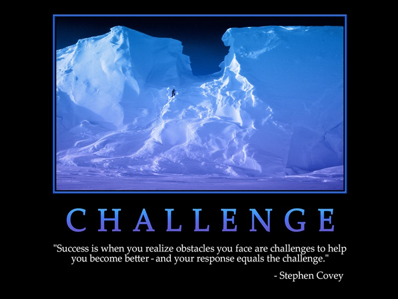 New Challenges Quote 1 Picture Quote #1