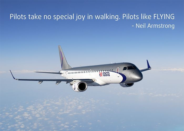 Neil Armstrong Aviation Quote 1 Picture Quote #1