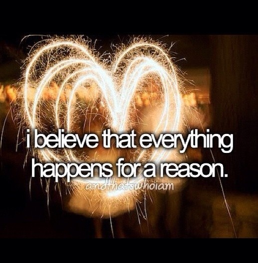 Things Happen For A Reason Quote 2 Picture Quote #1