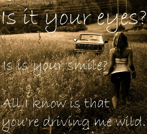 Cute Country Music Quote 1 Picture Quote #1
