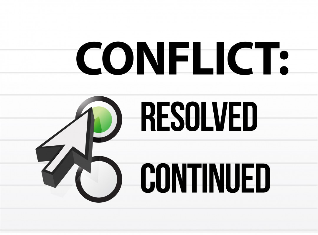 Resolving Family Conflict Quote 1 Picture Quote #1