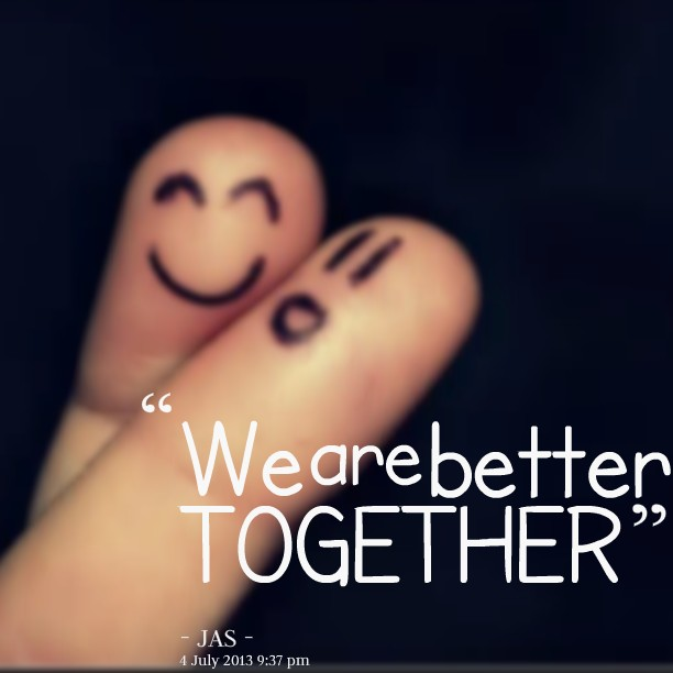 Togetherness Quote 2 Picture Quote #1