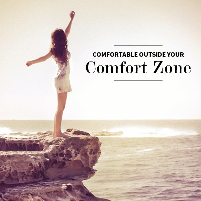 Get Out Of Your Comfort Zone Quote 1 Picture Quote #1