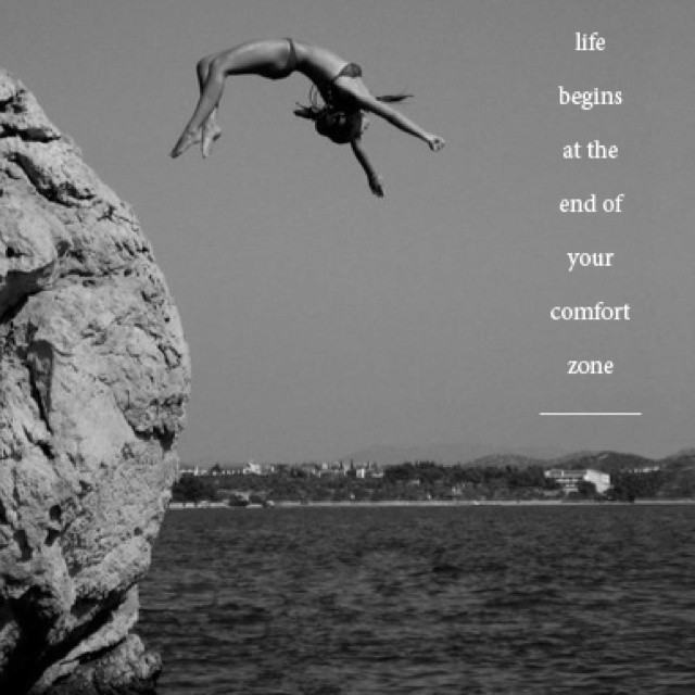 Outside Your Comfort Zone Quote 3 Picture Quote #1