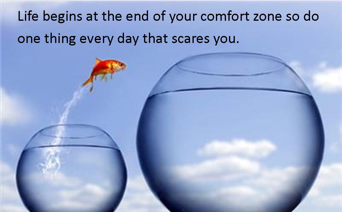 Leave Your Comfort Zone Quote 3 Picture Quote #1