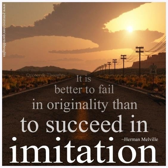 Herman Melville Originality Quote 2 Picture Quote #1