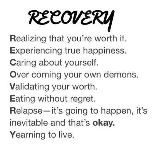 Eating Disorder Recovery Quote 3 Picture Quote #1